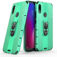 For Xiaomi Redmi 7 Case Magnetic Phone Ring Armor Shockproof Cover Coque 6.26