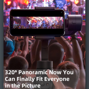 Image 2 - Baseus 3 osi bezprzewodowy Bluetooth ręczny Gimbal stabilizator telefonu dla iPhone Huawei statyw stabilizator Gimbal Gimal smartfon