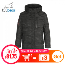 ICEbear 2019 New Winter Mens Down Jacket Fashion  Winter Jackets Male Outerwear Brand Clothing YT8117090