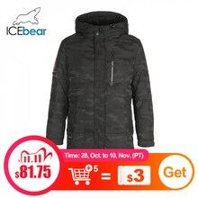 ICEbear 2019 جديد الشتاء الرجال أسفل سترة موضة جواكت شتوية الذكور ملابس خارجية ماركة YT8117090