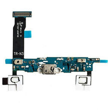 Conector do porto de carregamento cabo flexível para samsung galaxy note 4 SM-N910F n910g n910a n910t n910v n910p n910r4 carga peças de reparo