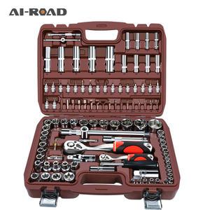 Wrench-Set Screwdriver Spanner-Kit Drive-Socket Repair-Tool Batch-Head Motorcycle Toos