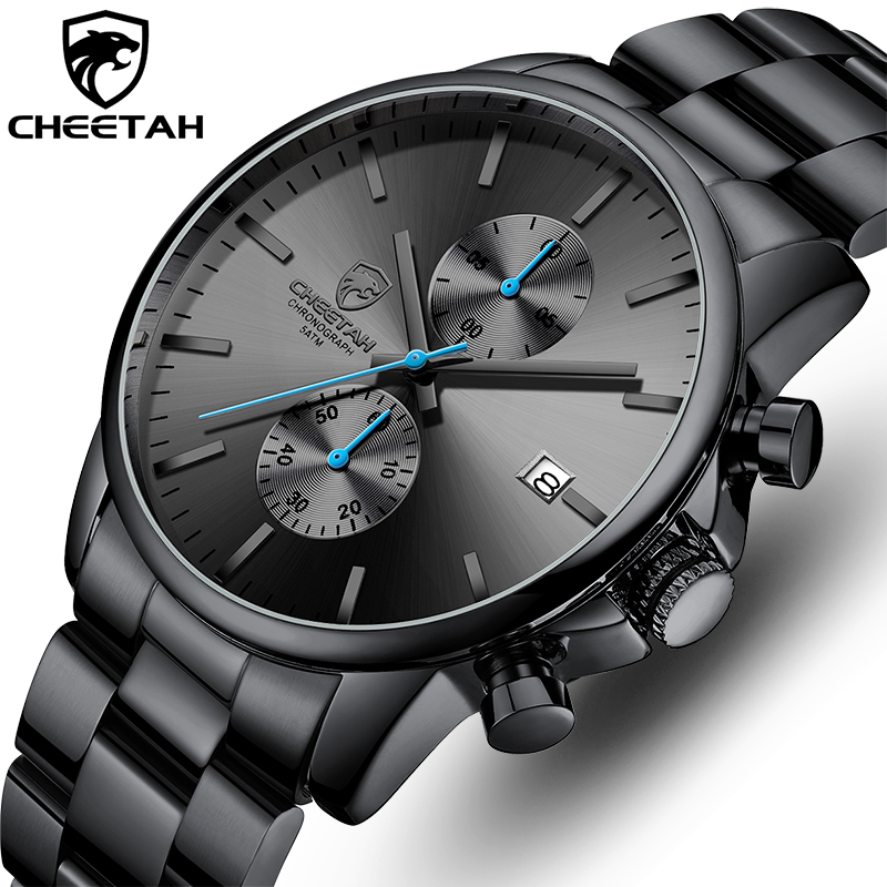 Watches for Men Warterproof Sports Mens Watch CHEETAH Top Brand Luxury Clock Male Business Quartz Wristwatch Relogio Masculino