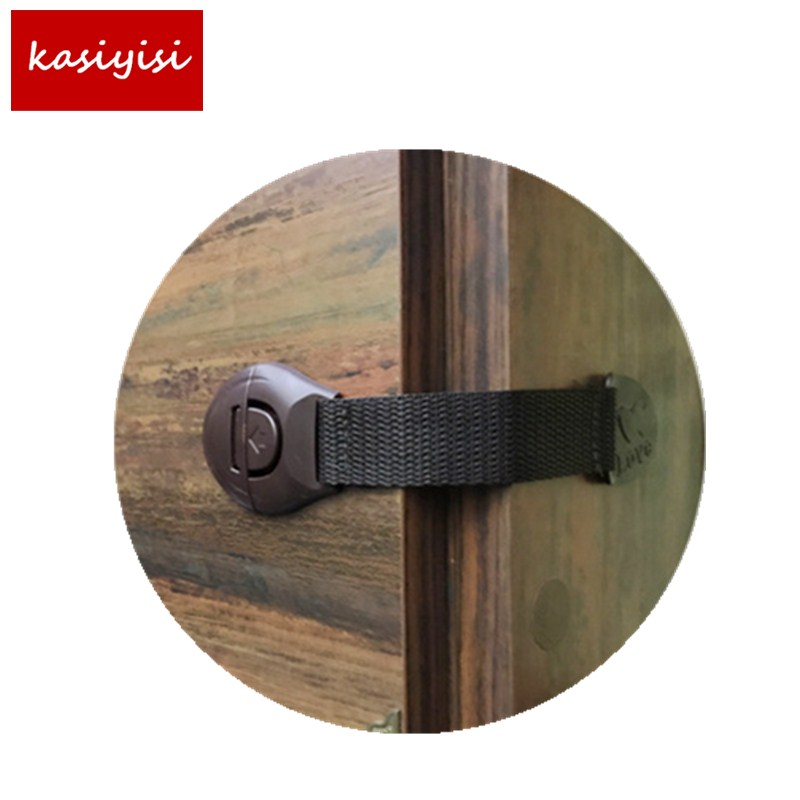 20pc Baby Plus ABS Plastic Webbing Child Safety Lock 3M Glue Drawer / Cabinet Lock / Toilet Locks