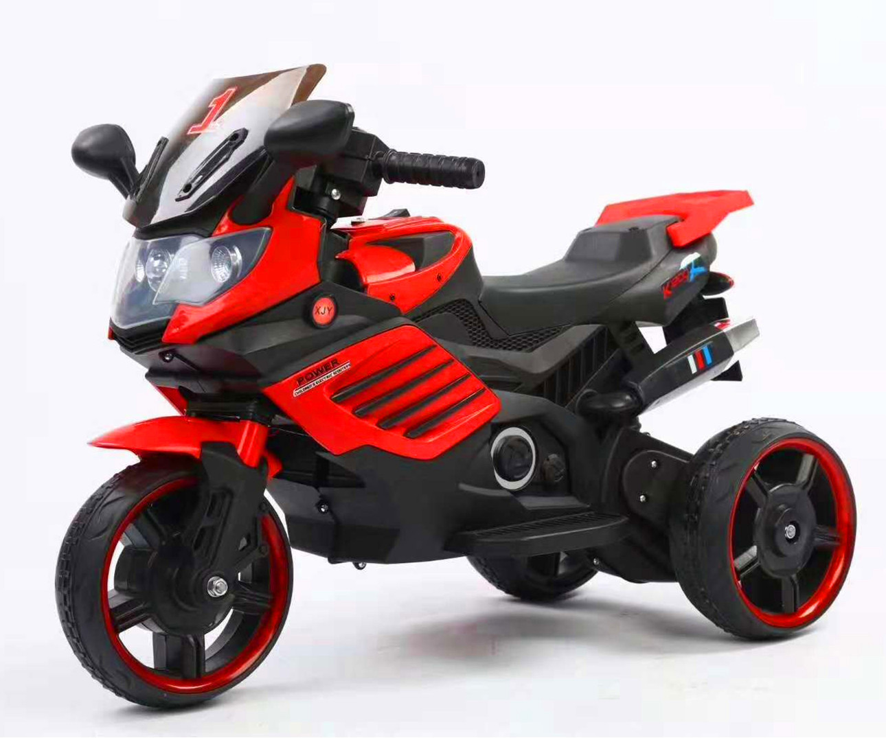 New Style CHILDREN'S Motorcycle Electric Motor Tricycle Kids Can Sit To Ride Toy Car Men And Women Children Electromobile