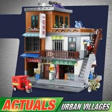 DHL XINGBAO 01013, китайские игрушки MOC, серия городской стройки, городской набор для строительства деревни, строительные блоки, наборы кирпичей, детские игрушечные модели, подарки
