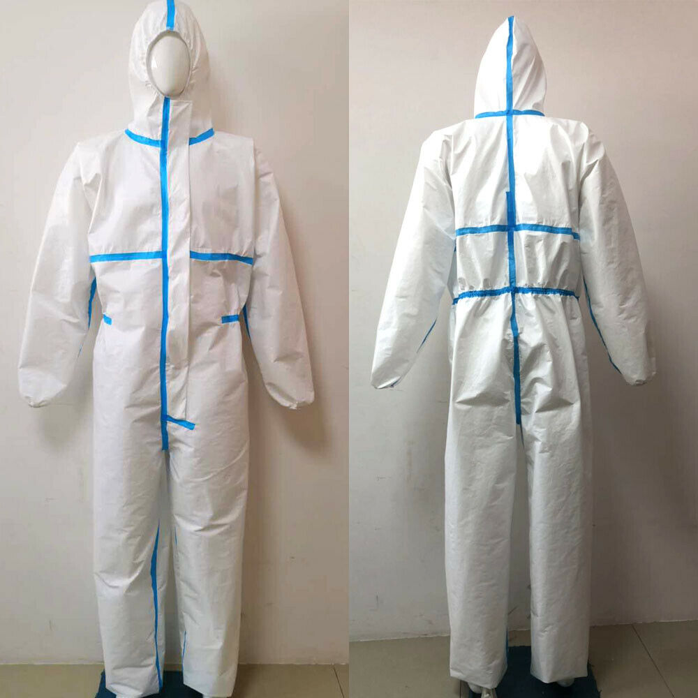 Professional Hazmat Suit Anti Virus Medical Disposable Protective Clothing FDA Overall Coveralls Anti Fog Hospital Safety Suit