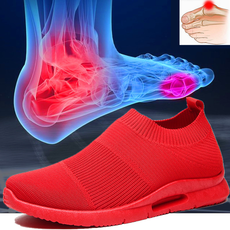 He2586e1f6d9b41bf9c7c71727f5c673en - Men Light Running Shoes Jogging Shoes Breathable Man Sneakers Slip on Loafer Shoe Men's Casual Shoes Size 46
