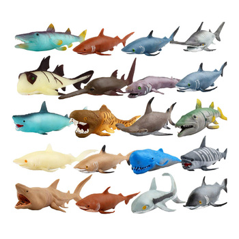 купить Stretch Ocean Sea Life Animals shark blue whale octopus Turtle Marine Model Twisting Pulling Bending Super Stretch Toy в интернет-магазине