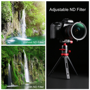 Image 5 - K&F Concept مفهوم 2in1 ترويسة متغير ND تصفية + CPL التعميم الإستقطاب تصفية 67 مللي متر 72 مللي متر 77 مللي متر 82 مللي متر ND2 إلى ND32 للكاميرا عدسة تصفية