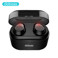TWS Wireless Headphones Hifi Stereo Super Bass Bluetooth V5.0 Earphone With Mic Sport Earbuds Headset for Phone With Charger Box