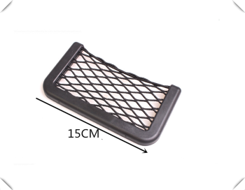 Universal Car Accessories Seat Cell Phone Debris Storage Mesh Bag for BMW E88 1M F20 F21 F15 X5M E71 X6 X6M E46 E90 E91 E92 image