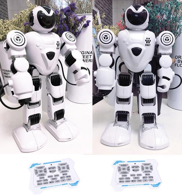 RC الروبوتات لعب للأطفال صوت الحوار الذكية روبوت الغناء روبوت راقص ألعاب تعليمية للأطفال جهاز روبوت للتحكم عن بعد 1
