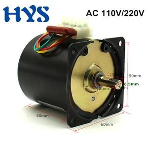 220 V Synchronous Motor AC 220V 110V Gear 14W Electric Motors Capacitor 60KTYZ Speed Reducer 2.5/10/15/20/30/40/60/80/100/110rpm