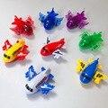 Миниатюрный мультяшный самолет, детская игрушка на день рождения для мальчиков, автомобили, Забавная детская развивающая модель, игрушка