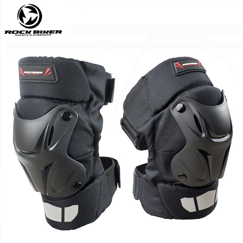 Rock Biker Motorcycle Knee Guards Motocross Racing Reflective Safety Protective Gears Motor Protector Short Motorbike Knee Pads