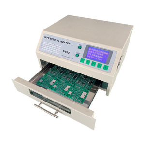 Image 3 - T 962 110V/220V 800W Desktop Reflow Oven Infrared IC Heater Soldering Machine 800W 180 x 235mm T962 for BGA SMD SMT Rework