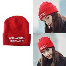 Sombrero corto de punto para hombre y mujer, accesorios para invierno, para hacer el Capitán América, nuevo, 1 Uds.