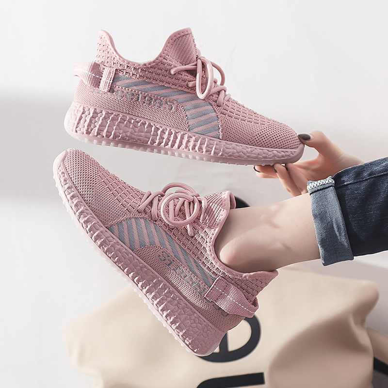 New 2020 Women Running Shoes Casual Comfortable Breathable Women's Sports Shoes Wear-resisting Height Increasing Women Sneakers