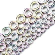 JHNBY cerchio viola chiaro ematite pietra naturale 8/10/12mm distanziatori rotondi branelli allentati fatti a mano per gioielli che fanno accessori fai da te