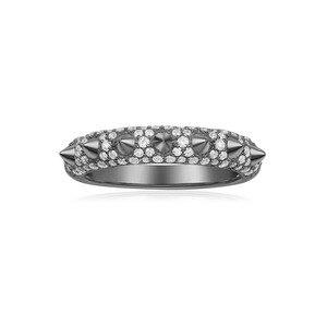 Image 3 - KAKANY 2020 Fashion Glamour Cubic Zirconia 1: 1 Copy, Black, Pink Zircon Bone Finger, Luxury Jewelry Gift for Monaco Women