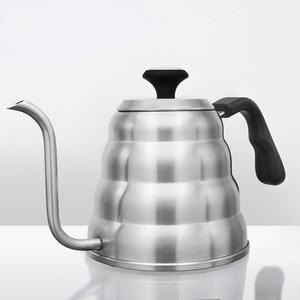 Stainless Steel Hario Coffee Drip Gooseneck Kettle Pot(China)
