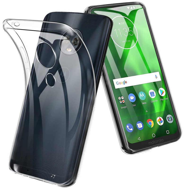 Olhveitra Dành Cho Motorola Moto G7 G6 G4 E5 Z4 Z3 Z2 Z Play E4 G4 G5 G5S G6 Plus g7 Điện Ốp Lưng Silicone Mềm TPU Bao Bọc Điện Thoại