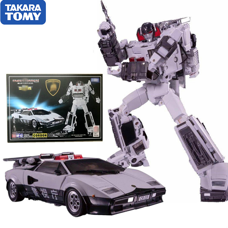 TAKARA TOMY Transformers Master Piece MP42 Sunstreaker Repaint Action Figure Metallic Luster Deformable Collection Toys