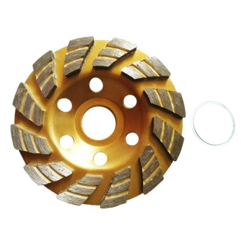 100mm Diamond Segment Grinding Sheet Wheel Concrete Marble Granite Cup Cutting Disc Masonry Stone Tools