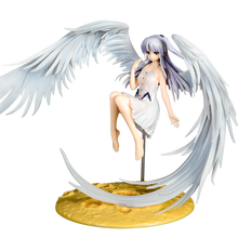 23cm Anime Angel Beats! Tachibana Kanade Archangel Wings PVC Action Figure Collectible Model Toys Kids For Christmas Gift