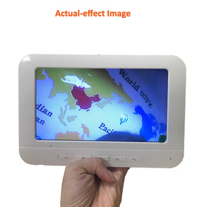 Image 2 - Homefong 7 بوصة السلكية فيديو جرس باب إنتركوم مع كاميرا الأبيض فتح باب الهاتف نظام اتصال داخلي يوم للرؤية الليلية IP65