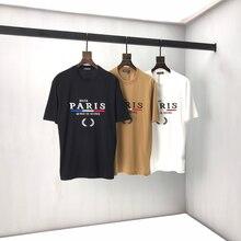 Camiseta con diseño de logotipo clásico para hombre y mujer, camisetas informales de Kith, Tops de alta calidad con etiqueta interior, camiseta a la moda en blanco y negro B7, 2021