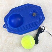 цена Sports Training Supplies Tennis Single Training Device With Rope Wear-resistant Tennis Tennis Rebound Device онлайн в 2017 году