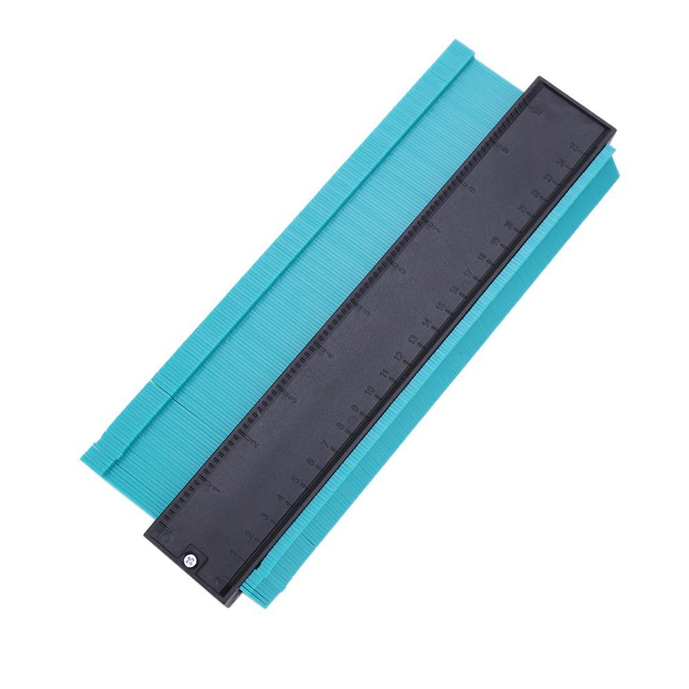 Perfil de modelador irregular plástico régua calibre