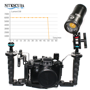 Image 4 - Nitescuba NSV60 diving video light 6000lumen High CRI=90