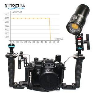 Image 4 - Nitescuba NSV60 diving video luce 6000lumen Alta CRI = 90