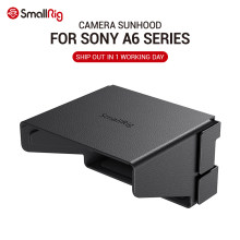 Smallrig A6400 Camera LCD Hood UNTUK Sony A6000/A6100/A6300/A6400/A6500/A6600 Kamera Sun warna Ringan Sunhood 2823(China)