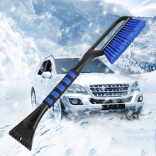 Zimowa przednia szyba samochodu skrobaczka szklana szczotka do śniegu wysuwana narzędzie do usuwania śniegu narzędzie do czyszczenia miotły akcesoria do mycia samochodów Styli tanie tanio Vecligt CN (pochodzenie)