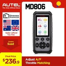 Autel MaxiDiag MD806& MD806 Pro OBD2 автомобиля автомобильный диагностический инструмент OBD 2 Авто диагностический сканер полный Системы диагностики PK MD802 MD805