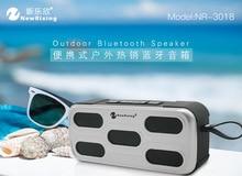 цена на Bluetooth Speaker Wireless HIFI Bathroom Outdoor Waterproof Subwoofer Portable Handsfree Support TF AUX bluetooth Riding Speaker