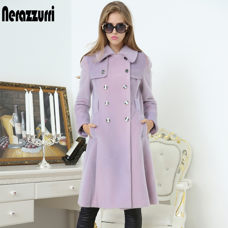 Nerazzurri British Style Trench Coat For Women Double Breasted Long Womens Clothes Clearance Sale 2019 Autumn Women Fashion