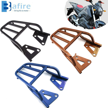 цена на For Honda Grom MSX125 Rear Back Carrier Motorcycle Replacement Carbon Steel Sissy Bar Backrest Luggage Rack Rear Back Carrier