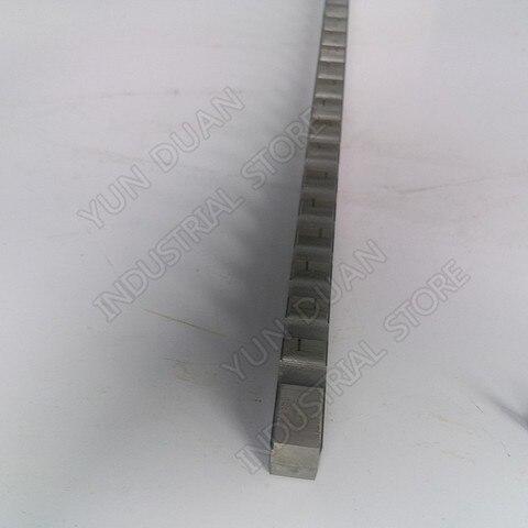 Ferramenta de Corte para Cnc d tipo Push Aço de Alta Keyway Broach Velocidade Broaching Máquina Metalurgia 12mm Hss Mod. 134328
