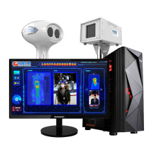 IPASON IR236 For Epidemic IR Fever Warning Computer System Desktop Computer&21.5 inch  Monitor&Speaker Set I59400F/GTX1060 1T/8G
