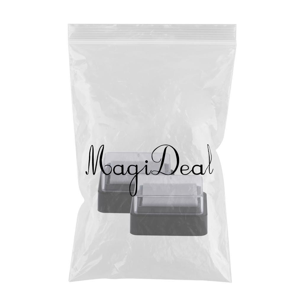 20 штук сухой чернильный коврик без цветов на губке для штампов Ткань Дерево Бумага Ремесло