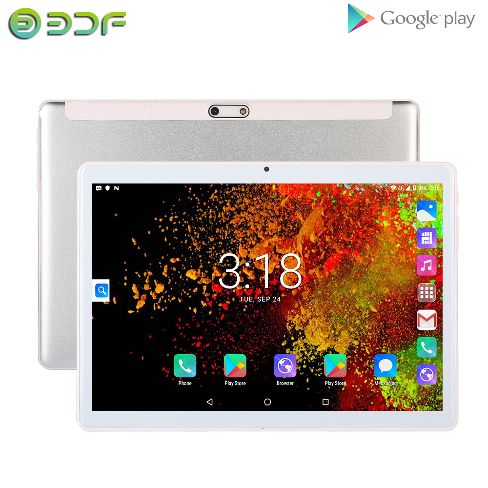 10 pulgadas Tablet Pc Android 7,0 Tablet Quad Core 1G RAM 32G ROM tabletas 1280*800 IPS LCD tarjeta SIM Dual 3G Tablet Pc title=
