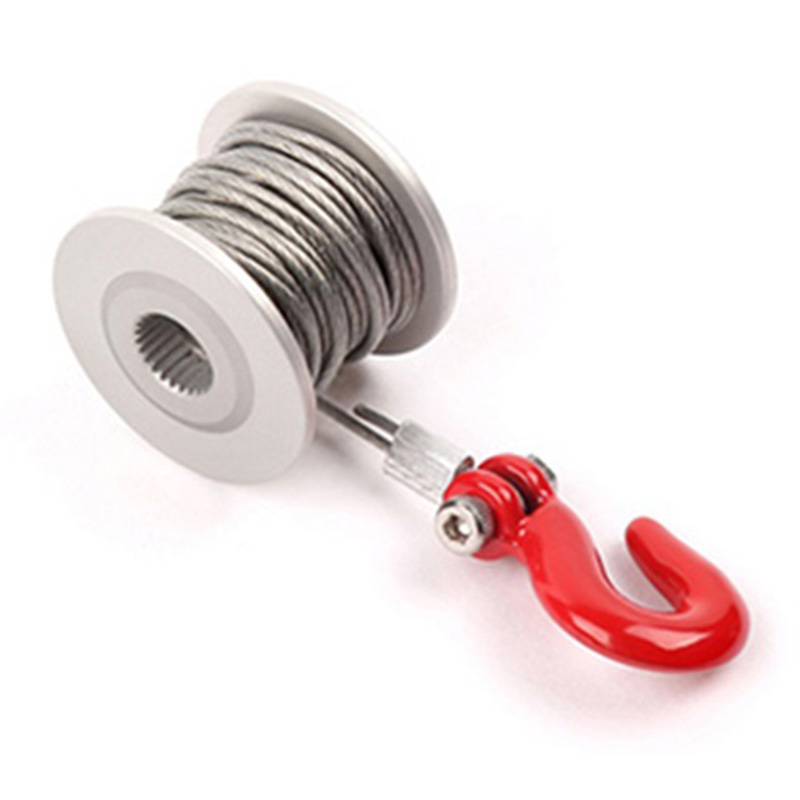 25T Steering Gear Servo Winch Wheel For 1/10 RC Crawler Car TRX4 RC4WD D90 D110 Axial Scx10 90046