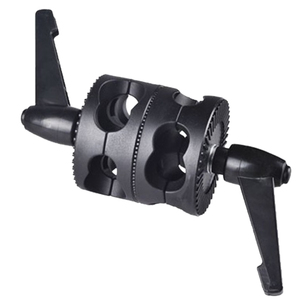 Image 3 - Multifunctional For Boom Photo Studio LED Light Mount Angle Universal Grip Head Clamp Photography Dual Swivel Arm Support Holder