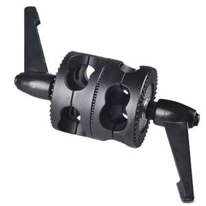 Image 3 - Multifunktionale Für Boom Foto Studio LED Licht Halterung Winkel Universal Grip Kopf Clamp Fotografie Dual Swivel Arm Unterstützung Halter