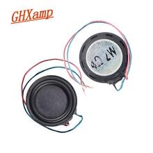 GHXAMP 20 มม.Ultra Thin MINI 4 โอห์ม 2 วัตต์เต็มช่วงลำโพงประสิทธิภาพสูง Neodymium แม่เหล็ก